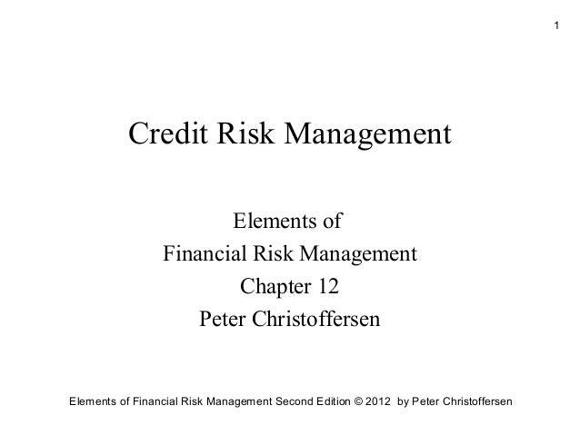 Credit risk management (2)