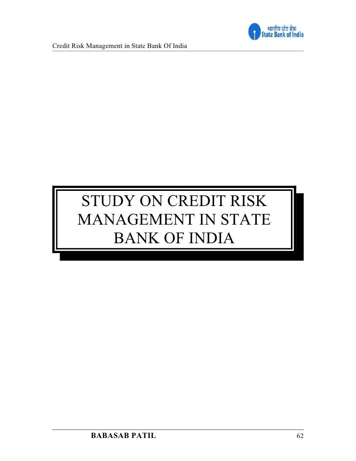 credit risk management of national bank Bank supervision directorate may 2010 1 national bank of ethiopia bank risk management guidelines (revised) 1 introduction risk-taking is an inherent element of banking and, indeed, profits are in part the reward for.