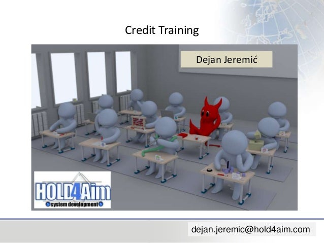 Credit training in English