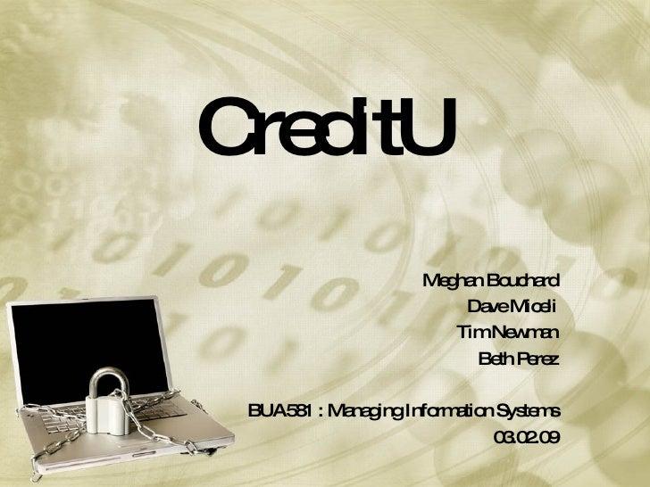 CreditU