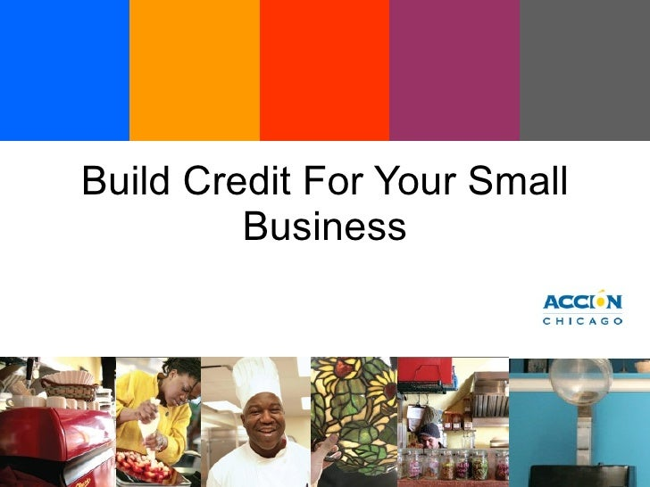Build Credit For Your Small Business