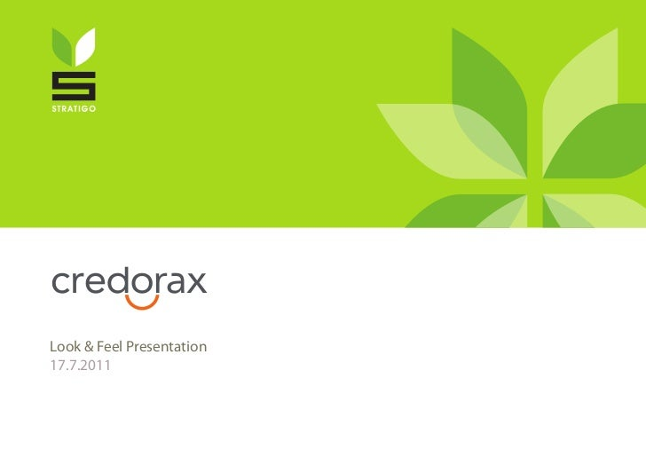 Look & Feel Presentation17.7.2011