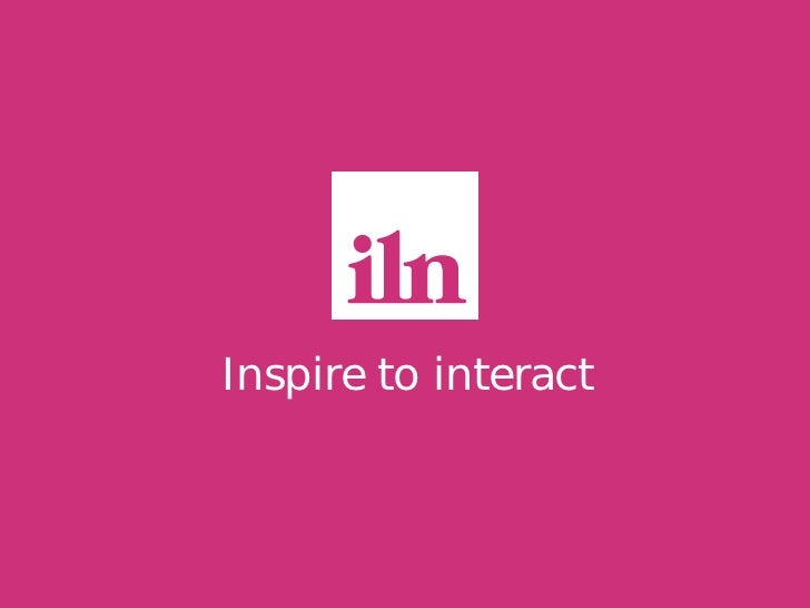 Inspire to interact