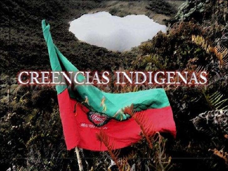 Creencias indigenas