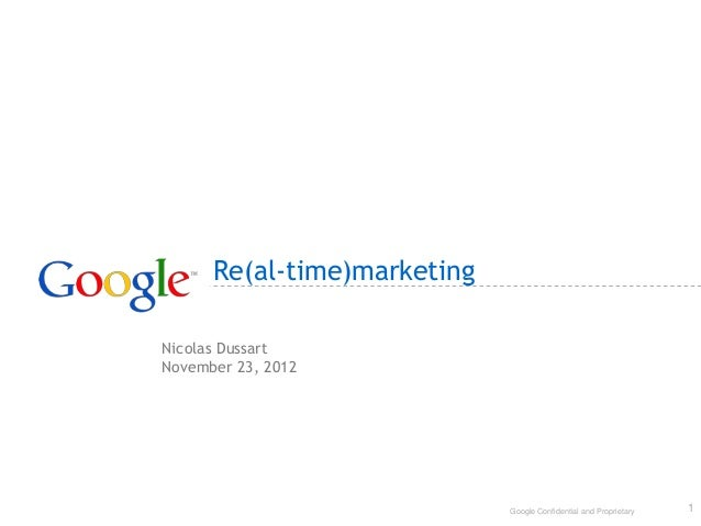 eCRM: How to build strong customer relations with Re(al-time)Marketing