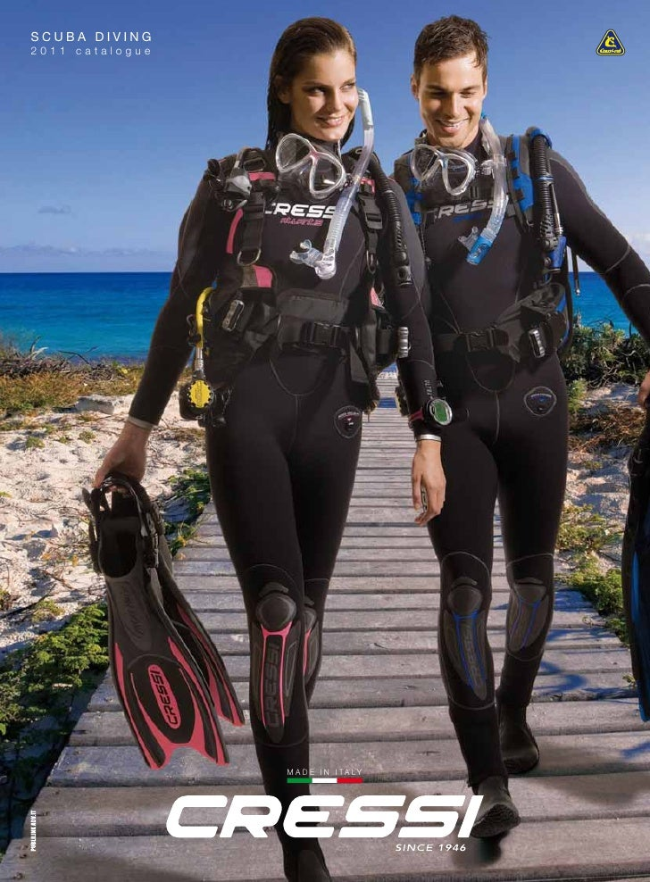SCUBA DIVING2011 catalogue                 M A D E I N I T A LY