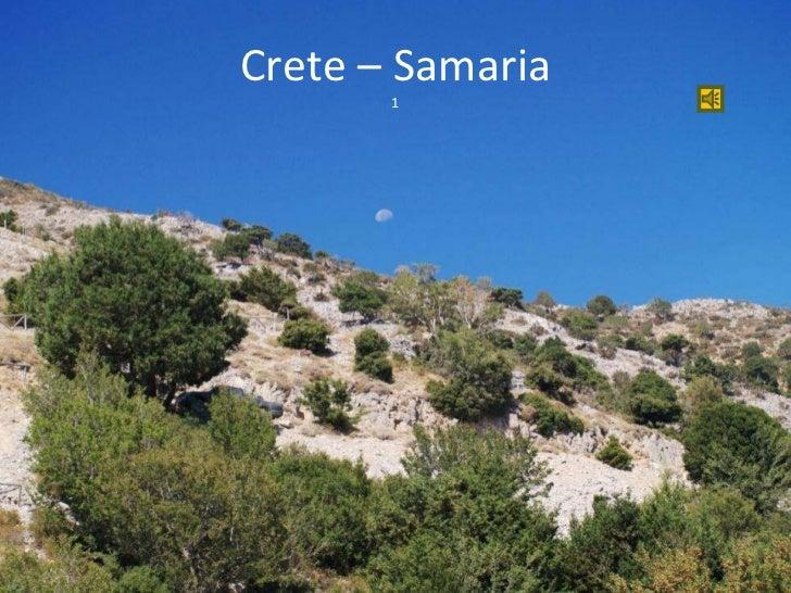 Crete – Samaria 1