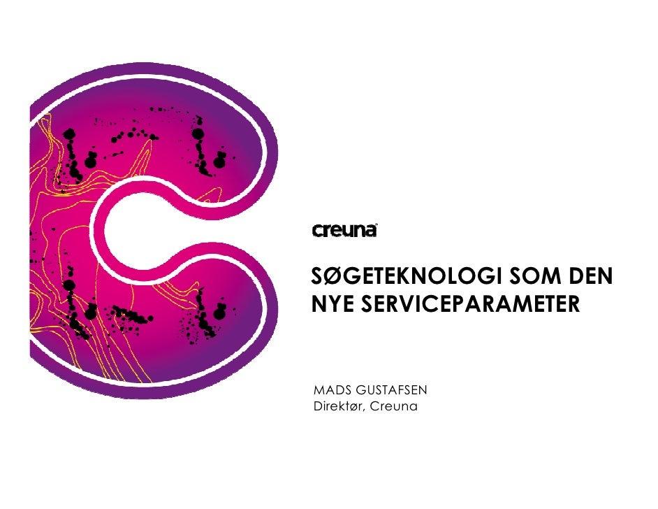 Enterprise Search, Mads Gustafsen, Creuna