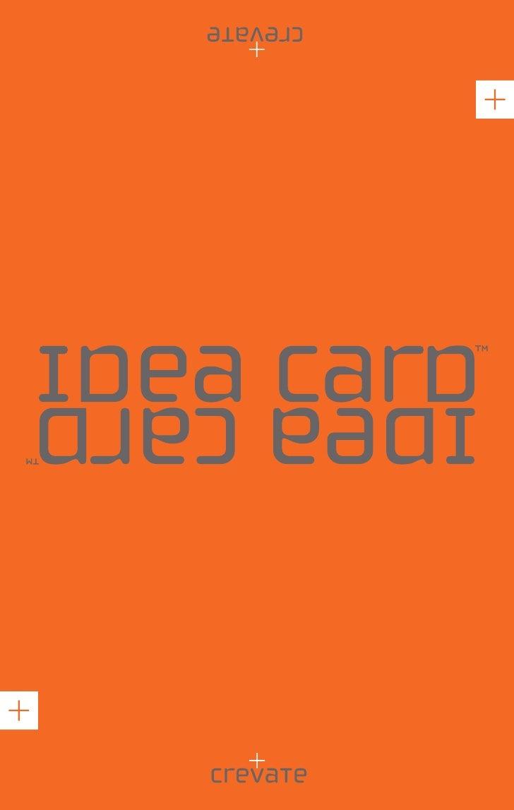 Crevate Ideacard