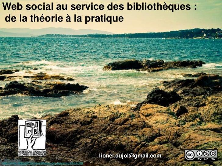 Web social au service des bibliothèques: de  la théorie à la pratique