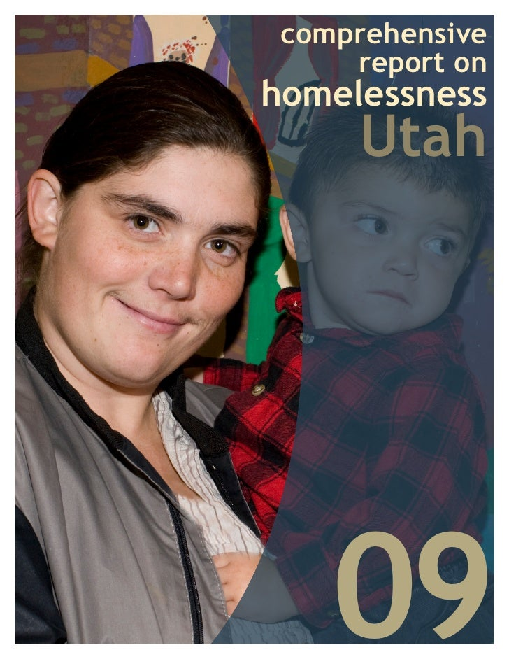 comprehensive      report on homelessness      Utah         09