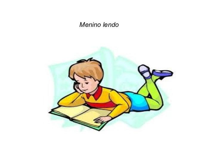 Menino lendo