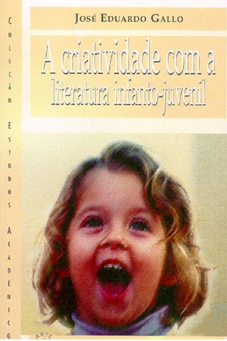 Criatividade com literatura infanto juvenil