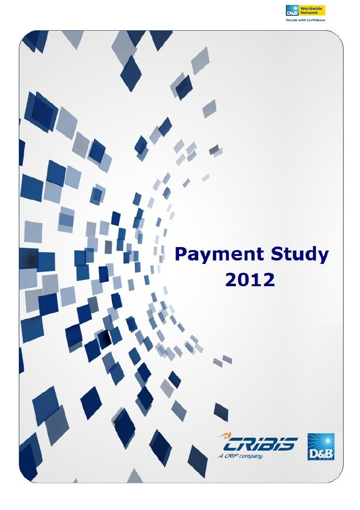 Cribis D&B Payment Study 2012  Italy