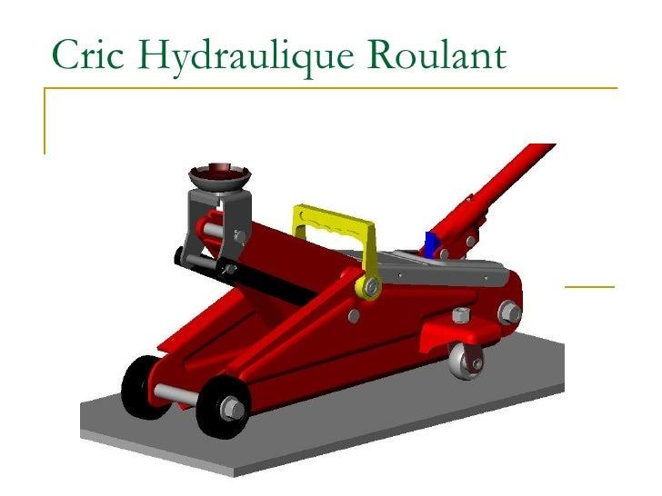 Cric Hydraulique Roulant