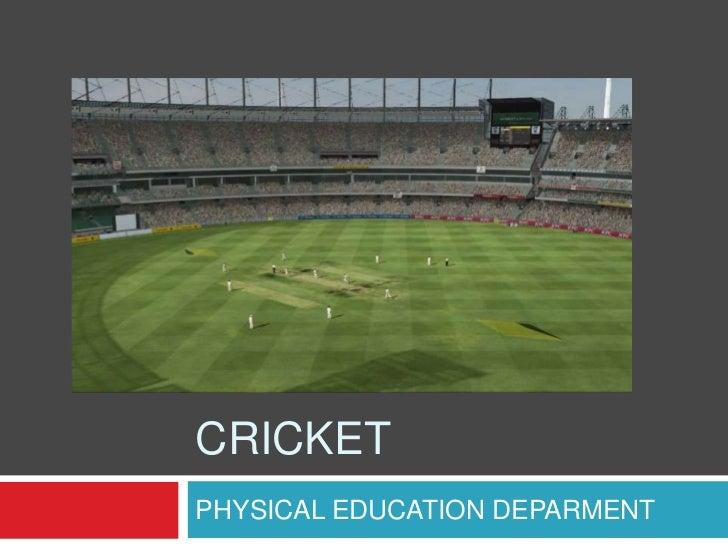 Cricket Visual Information 2º ESO Secciones