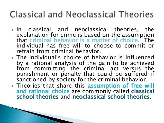 cesare beccaria and rational choice theory Chapter 4 - rational choice theory michelle palaro criminology 81-220-1   human decision making made by cesare beccaria and becker.