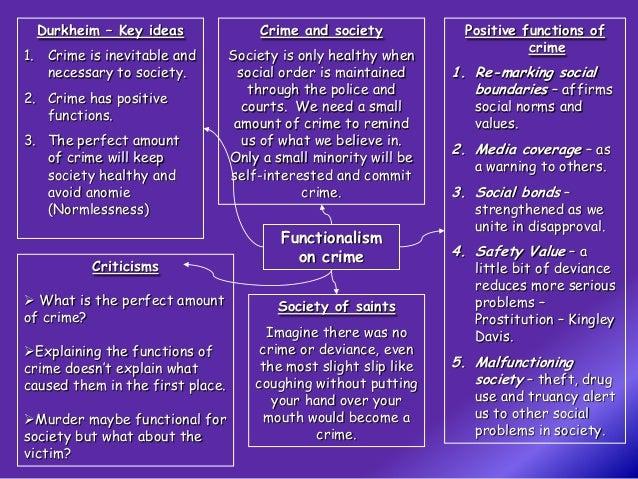 Crime and society essay