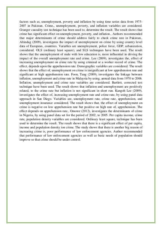 Buy research paper online the relationship between socio economic factors and crime