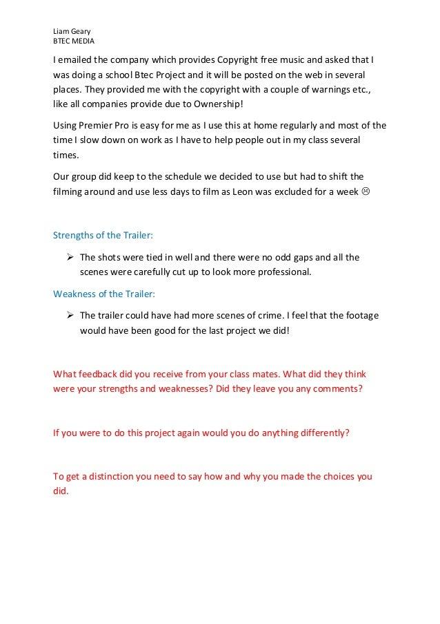 Drama Evaluation, Need Help!?