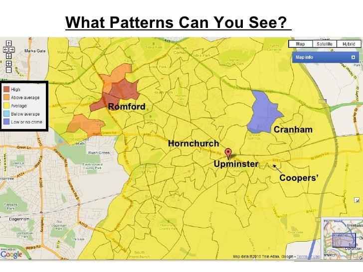 What Patterns Can You See?  Coopers'  Upminster  Cranham Romford Hornchurch