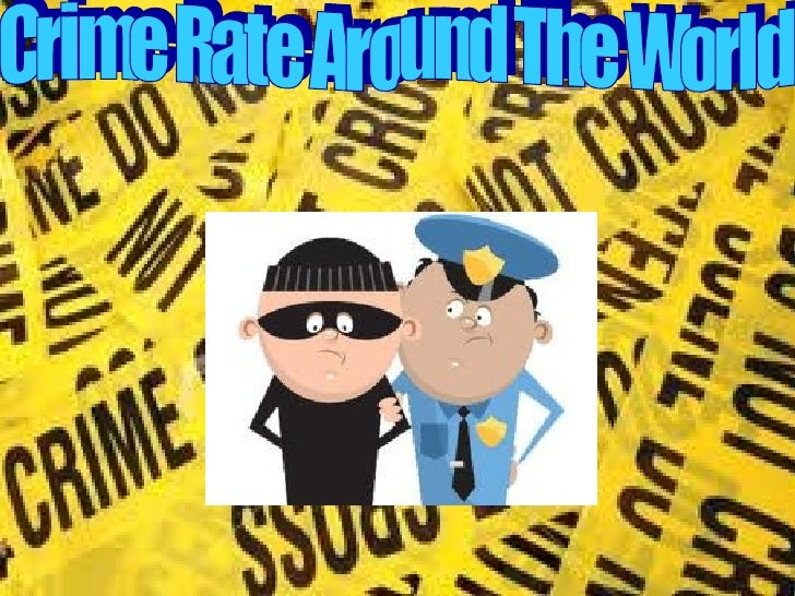 Crime rate by: Sam Miller