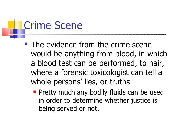 crime scene investigators research paper Question you are a crime scene investigator on a homicide who finds that you have several types of evidence that must be photographed, logged, and recovered from that scene.
