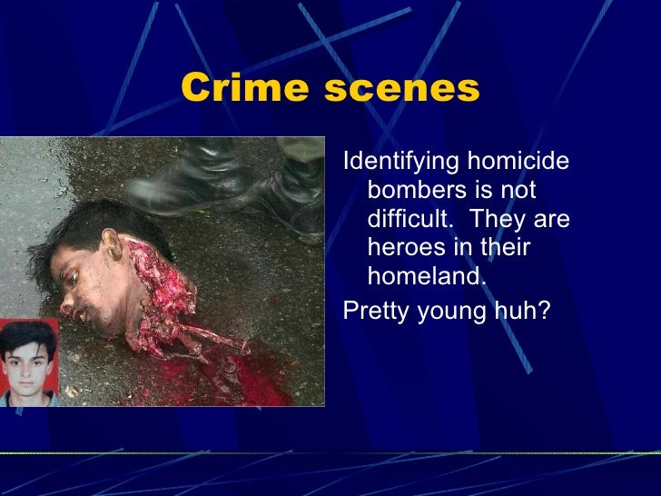 crime scene profiling essay Key words: psychological profiling, interpersonal approach, vi-cap approach, crime scene approach, inductive and deductive approach, behavioural.