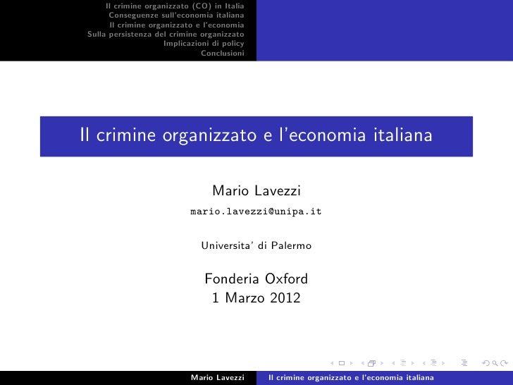 Criminalita org