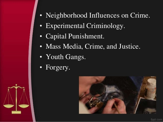 Good topics criminal justice research paper
