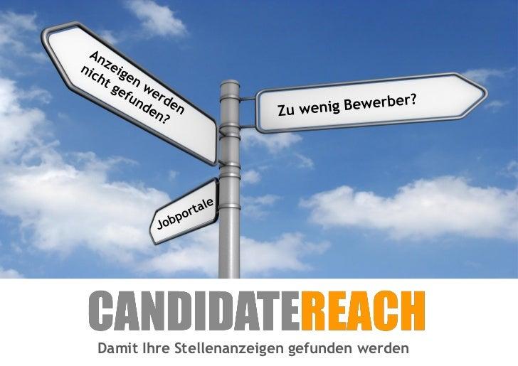 CandidateReach Interessenteninfo