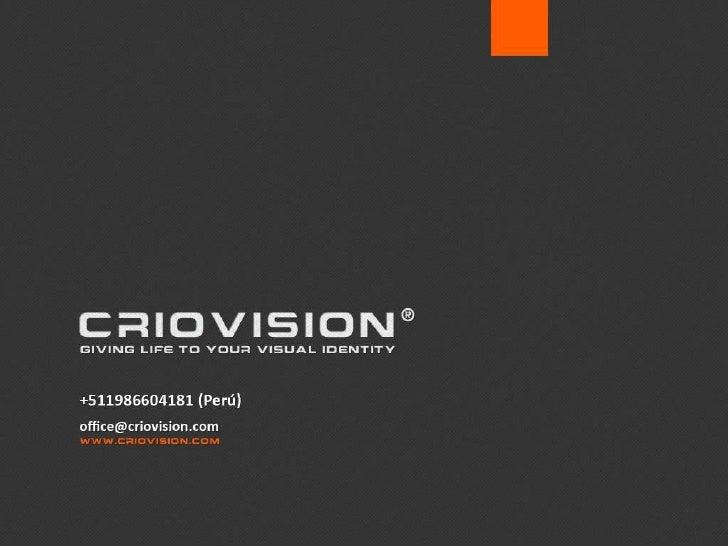 Criovision Portfolio