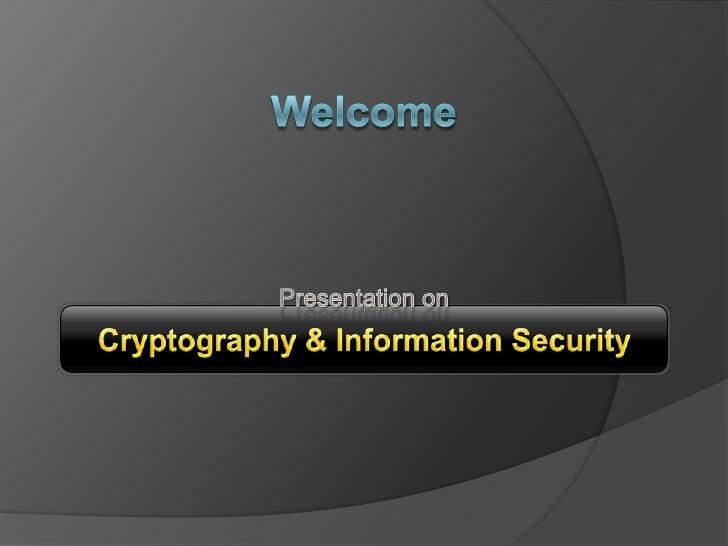 Cryptography Ashik