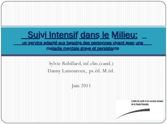 Sylvie Robillard, inf.clin.(cand.)Danny Lamoureux, ps.éd. M.éd.Juin 2011____ _______ ____ __ _____ _________ ______ ___ __...