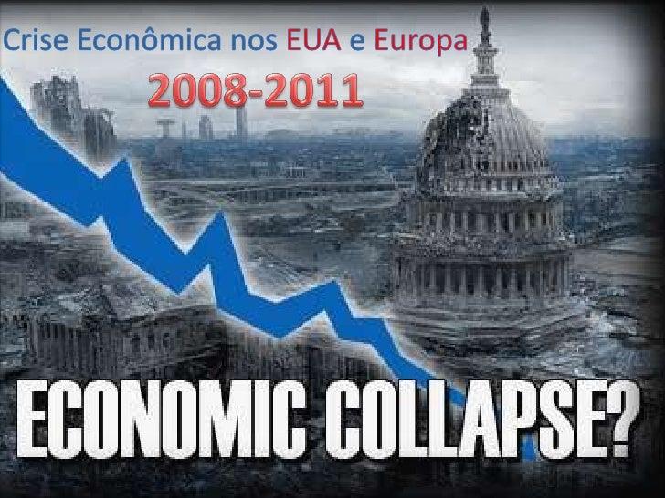 • A crise no mercado hipotecário dos EUA é uma decorrência da crise imobiliária pela qualpassa o país, e deu origem, por s...