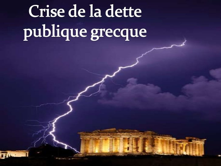 LES ORIGINES DE LA CRISE  La crise                 L'endettement              Le déficit                    Le déficitfina...