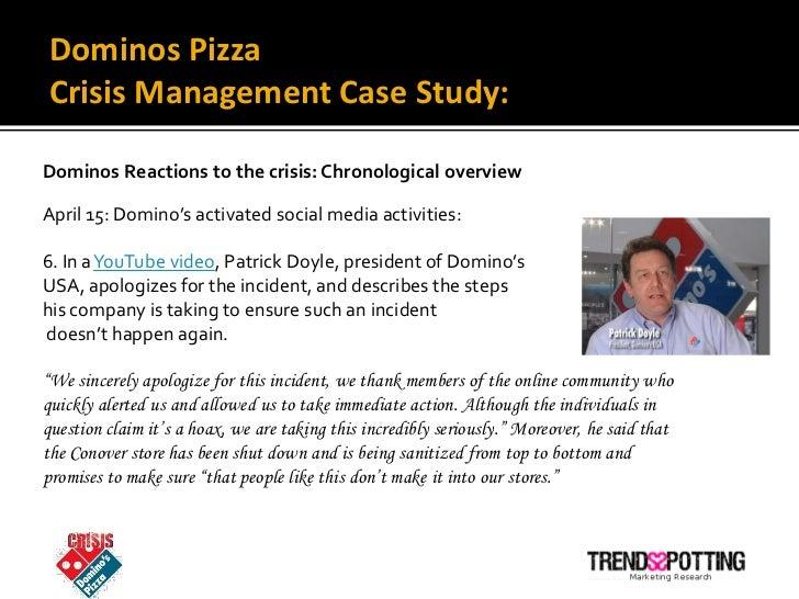crisis management case study