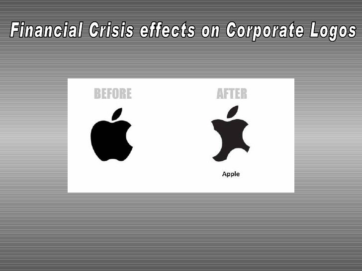 Financial Crisis effects on Corporate Logos