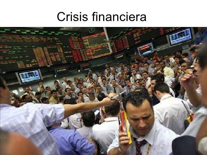 Crisis Financiera Terminado