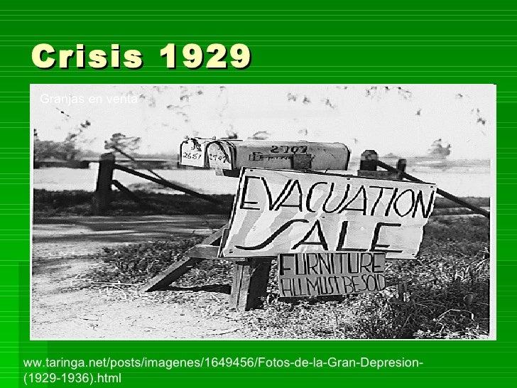 Crisis 1929 imagenes