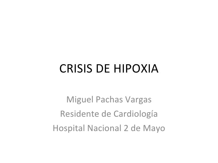 Crisis Hipoxia