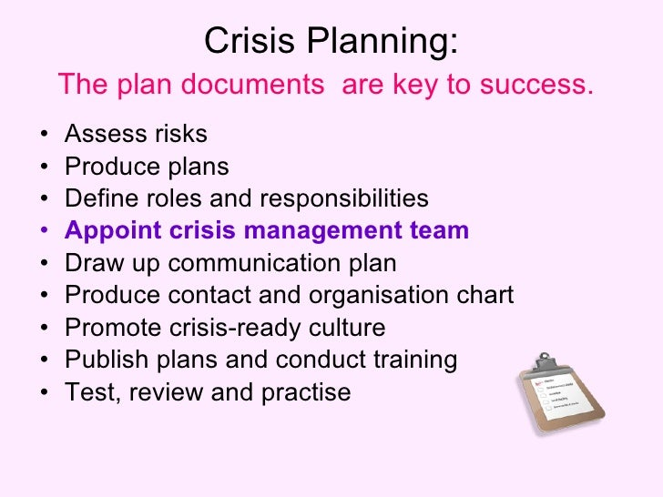 crisis management according to cornelissen essay Need essay sample on crisis management at tylenol we according to the wikipedia: crisis management involves identifying a crisis, planning a.