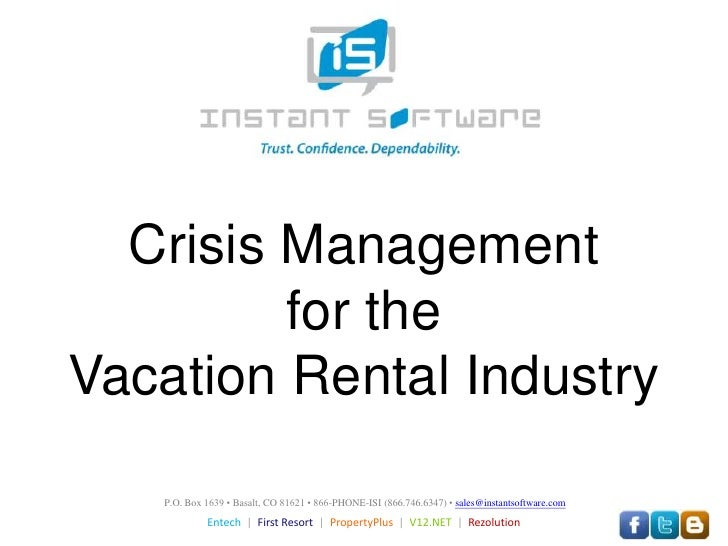 crisis situation management in hospitality sector Situational crisis communication theory (scct)  should have crisis and disaster  management competency  communication strategies in application for crises  preparedness in the tourism and hospitality industry world over.