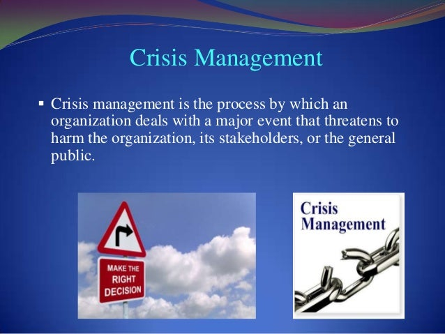 product harm crisis management The product-harm crisis literature suggests time is an important factor affecting the public's crisis related behavior (standop, 2006) in this vein, vassilikopoulou et al (2009) suggest that an.