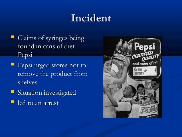 pepsi case analysis essay Internal analysis of pepsi pepsico is comprised by three major divisions namely pepsico america beverages, pepsico americas foods, and pepsico international.