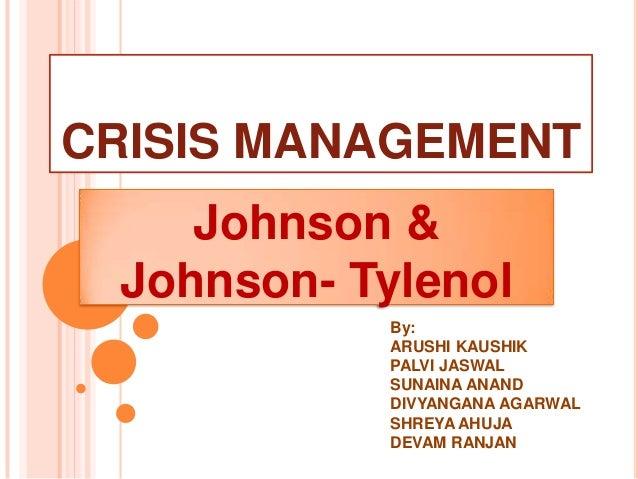 Crisis management (Event Management and Corporate Communication)