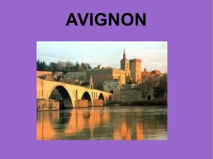 Powe point de Avignon (Francia)