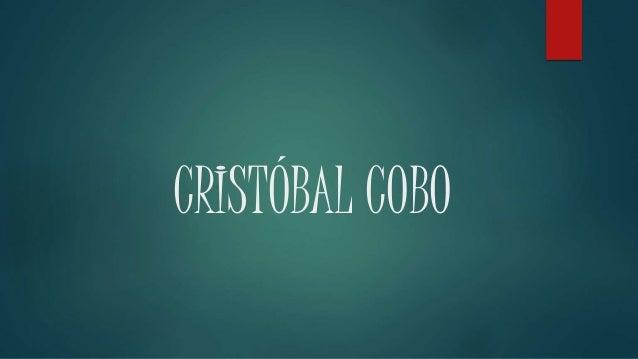 CRISTÓBAL COBO