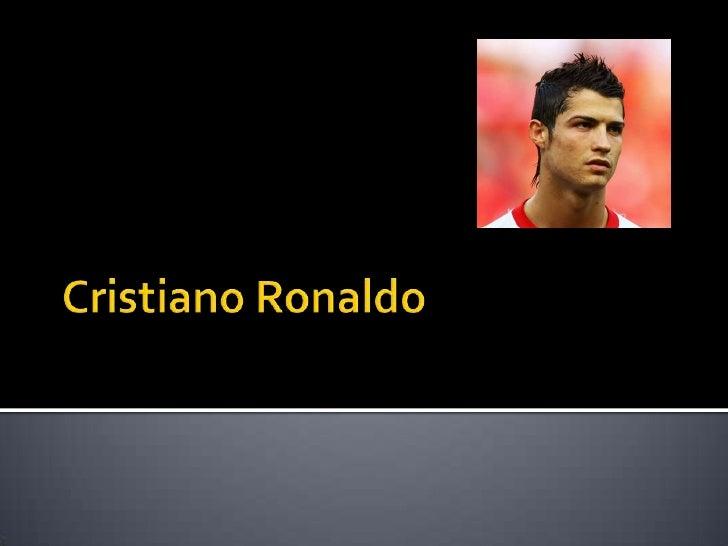 Cristiano Ronaldo<br />