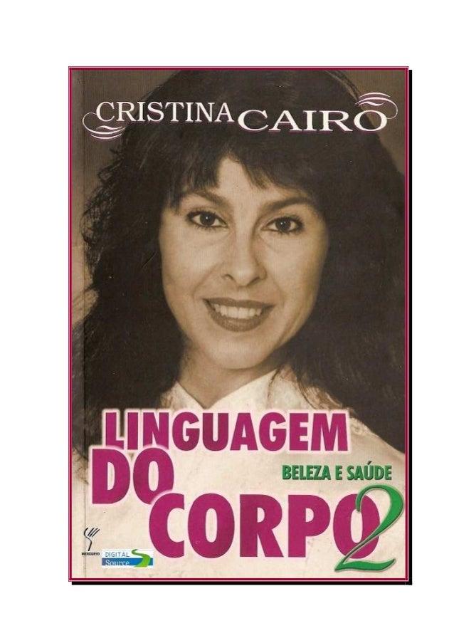 Cristina cairolinguagemdocorpo2belezaesade